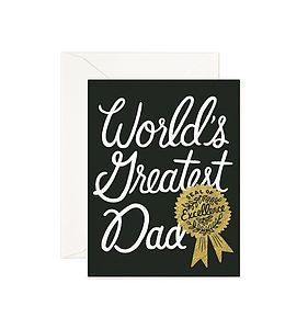 'World's Greatest Dad' Card