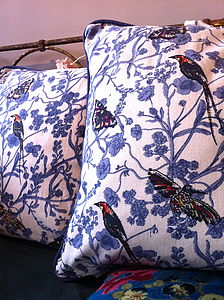Summer Bird Cushion - cushions
