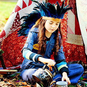 Feather Headdress - toys & games