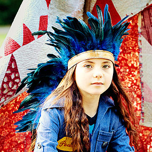 Feather Headdress - fancy dress