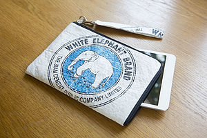 Recycled Elephant Case For iPad Mini - laptop bags & cases
