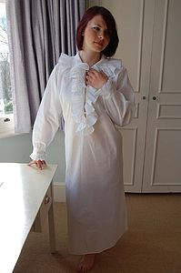 Emma Cotton Frill Nightdress