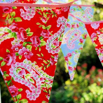 Cotton Paisley Bunting