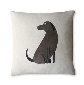 Labrador Cushion - living room