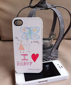 Personalised Draw Your Own IPhone Case - bags & cases