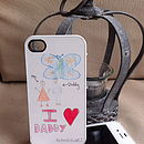Personalised Draw Your Own IPhone Case