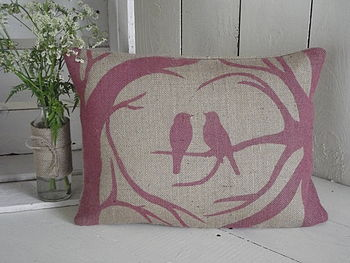 ' Love Birds ' Cushion