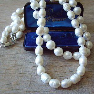 Freshwater Pearl Necklace - necklaces & pendants