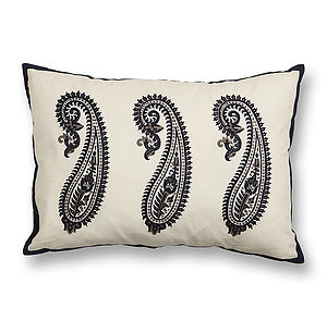 Kashmir Paisley Cushion Cover