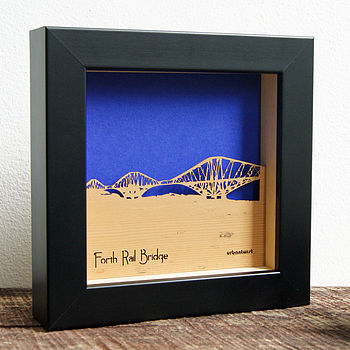 Forth Rail Bridge Mini Wall Art