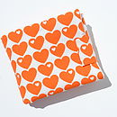 Orange Hearts (sold out)