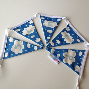 'Sleep' Mini Bunting - bunting & garlands