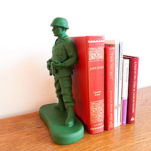 Toy Soldier Bookend - decorative accessories