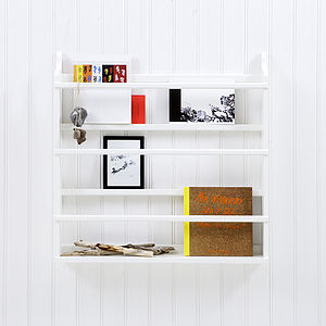 Scandanavian Plate Rack - office & study