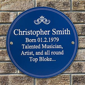 Personalised Heritage Plaque - signs