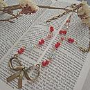 Wirewrapped Blossom Vintage Jewellery Set