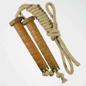 Victorian Bobbin Skipping Rope - traditional toys & games