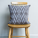 Knitted Hoop Cushion