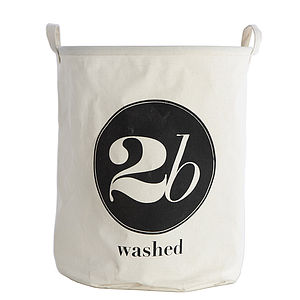 '2B Washed' Laundry Bag - laundry bags & baskets