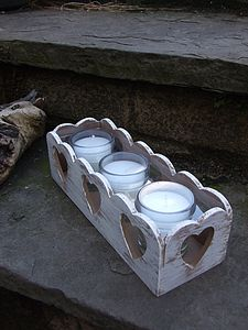 Heart Triple Candle Holder