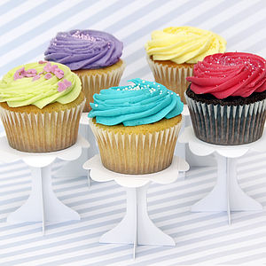 Cupcake Pedestal Stands - table decorations