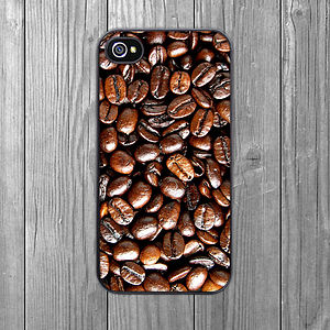 Coffee Beans IPhone Case - men's accessories
