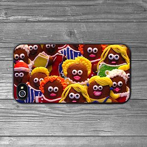Gingerbread Men IPhone Case - bags & purses
