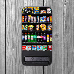 Vending Machine IPhone Case - gifts for friends