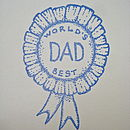 'World's Best Dad' Handmade Card