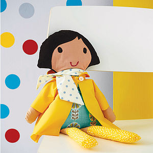 Personalised Handmade Doll - best bits for birthdays