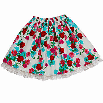 Girl's Mel Rose Skirt