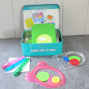 Child's Spirograph Art Set In A Tin - view all gifts for babies & children
