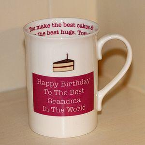 Personalised Pink Secret Message Mug