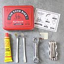 Bicycle Tool And Puncture Repair Kit