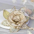 Vintage Inspired Silk Rose