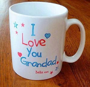 Personalised 'Love You Grandad' Mug