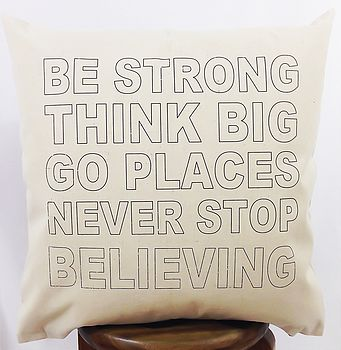 'Go Places' Cushion