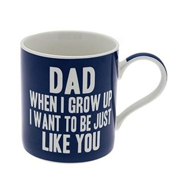 'When I Grow Up' Father's Day Mug