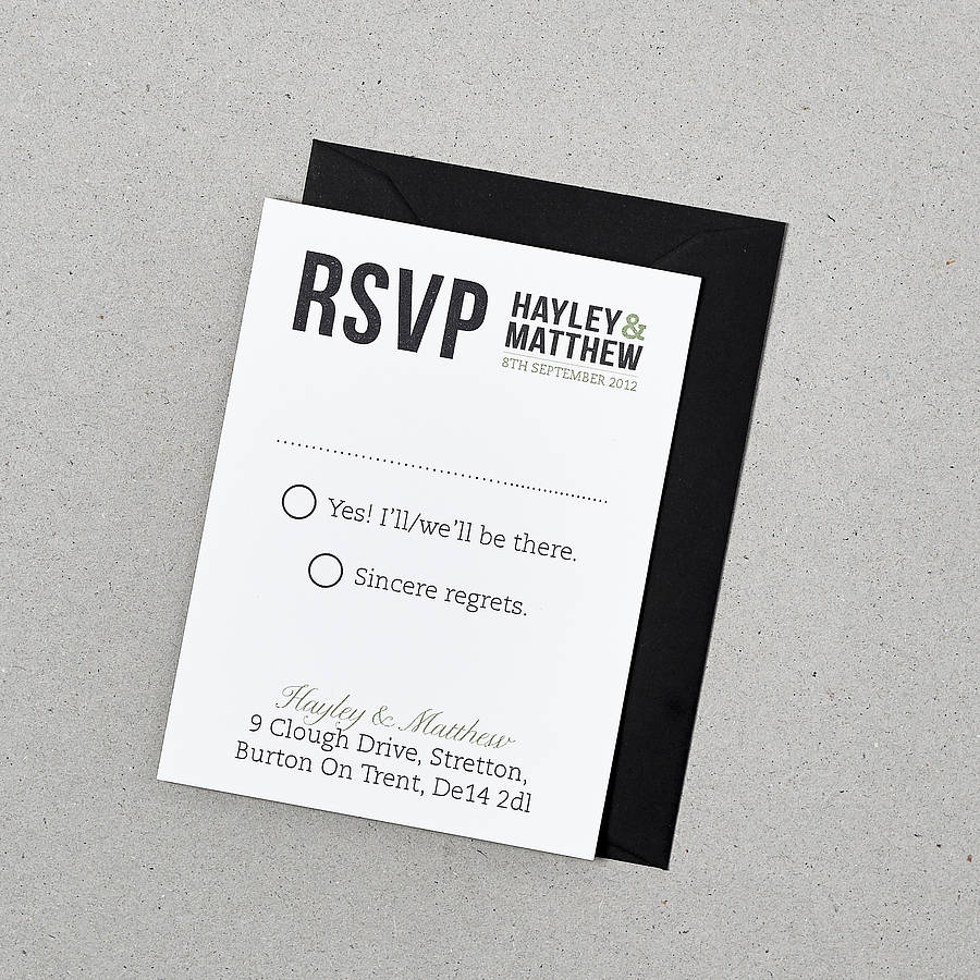 Rsvp Cards For Wedding The Mason Jars And Fireflies Rsvp Cards – Rsvp in Invitation Card Meaning