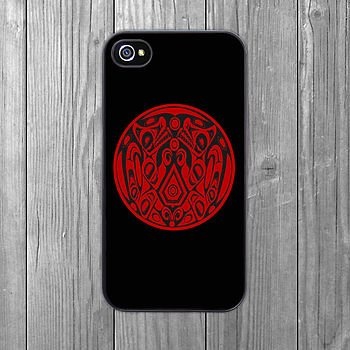 Wolfpack Tattoo IPhone Case