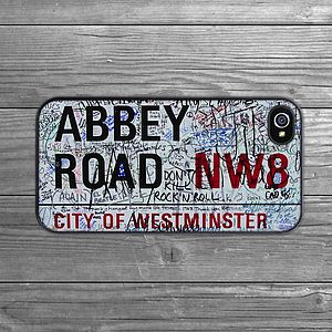Abbey Road IPhone Case - tech accessories for her