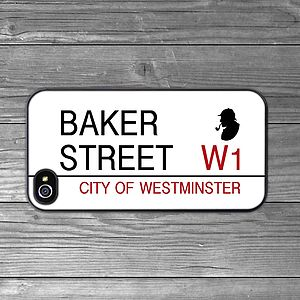 'Baker Street' Sign IPhone Case