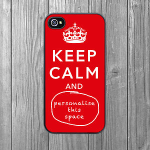 'Keep Calm' Case For IPhone - women's accessories