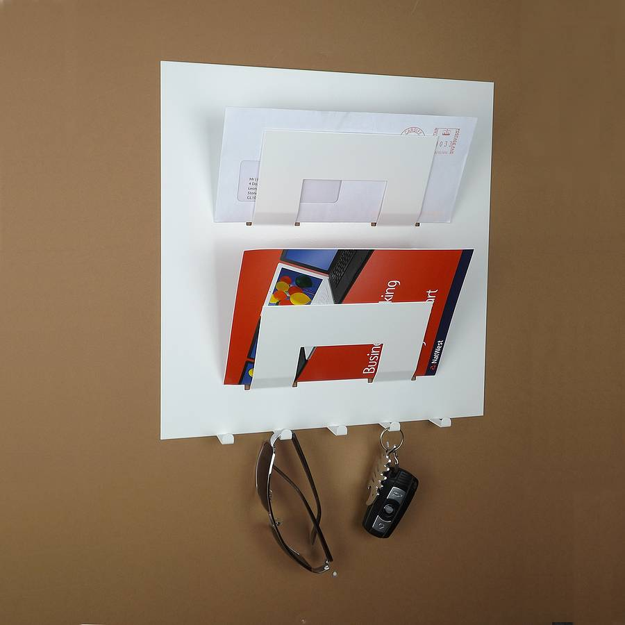 Letter Rack And Key Holder By The Metal House Limited