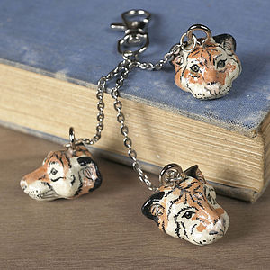 Ambush Of Tigers Bag Charm