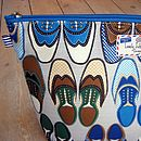 Wingtip Shoes Wash Bag Close Up