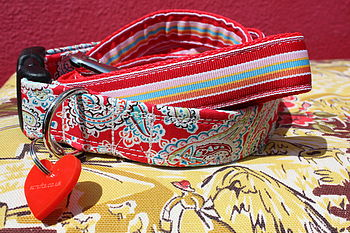 Gypsy Hippy Dog Collar And Lead By Scrufts