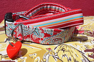 Gypsy Hippy Dog Collar And Lead By Scrufts - dog collars