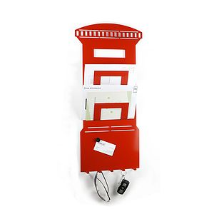 Postbox Memo Board Letter And Key Rack - noticeboards