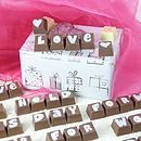 Party & Wedding Chocolate Letter Messages